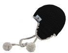 Black - Makes 3 x Myboshi Ski Circus Beanies & Hats - Intermediate to Advanced Crochet Kit